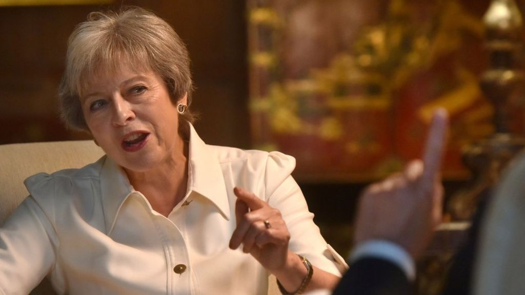 bbc.co.uk - Theresa May 'irritated' by leadership speculation
