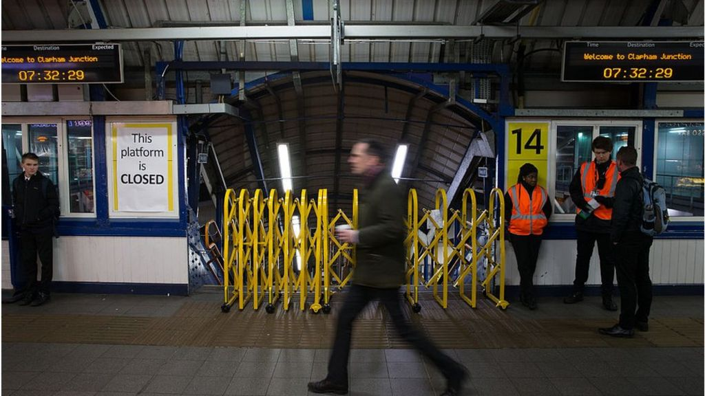 Fresh rail strikes hit services across England