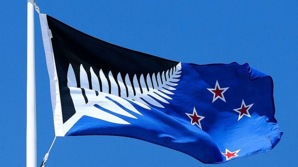 New Zealand chooses new flag as preliminary winner - BBC News