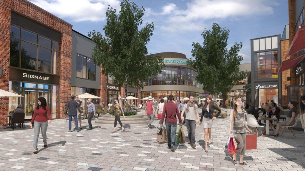 New shopping centre plans for Stratford
