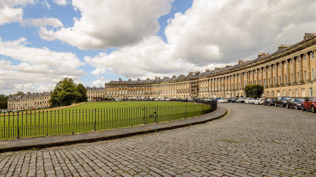Buildings in Bath