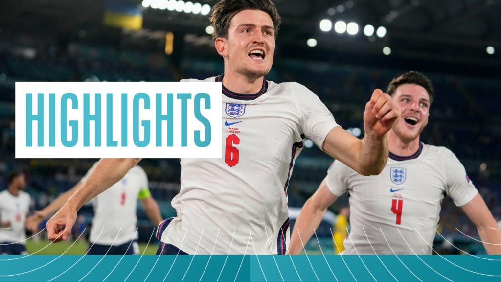 England thrash Ukraine to set up first Euros semi-final in 25 years