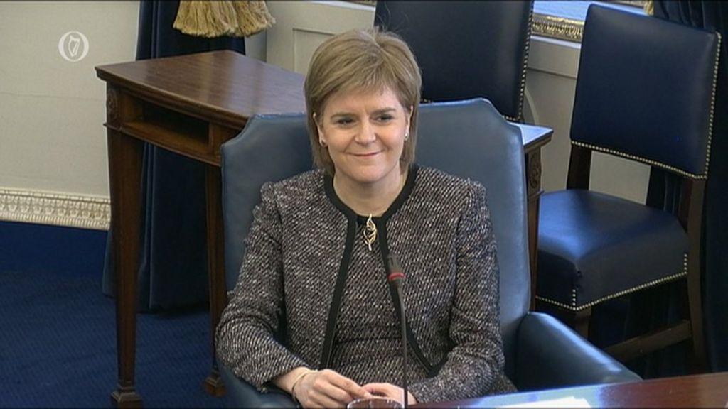 Scotland's first minister to visit Dublin