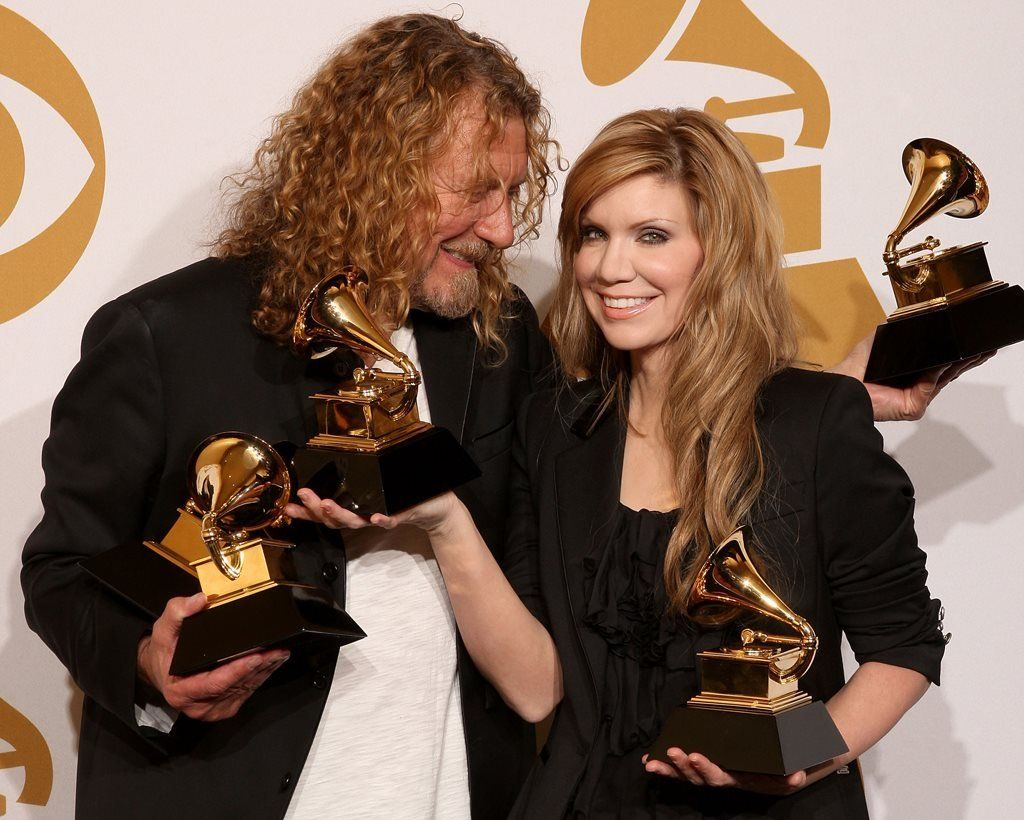 Alison Krauss and former Led Zeppelin frontman Robert Plant won five Grammys for their album Raising Sand in 2009
