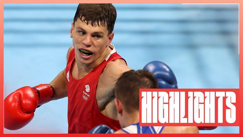 Tokyo Olympics: Pat McCormack beats Aliaksandr Radzionau in men's welterweight round of 16