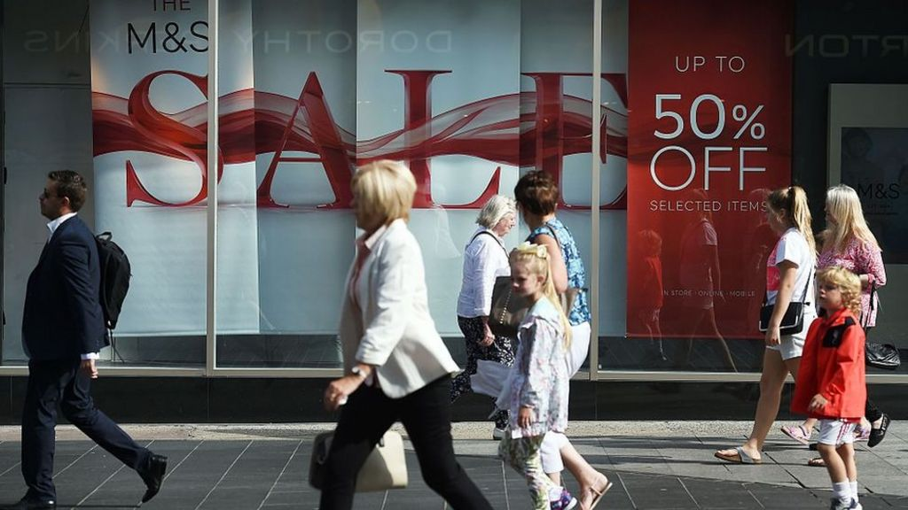Biggest fall in UK retail sales in seven years