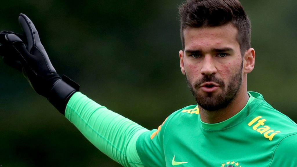 Image result for Liverpool Offer for Brazil Goalkeeper Alisson Accepted by Roma