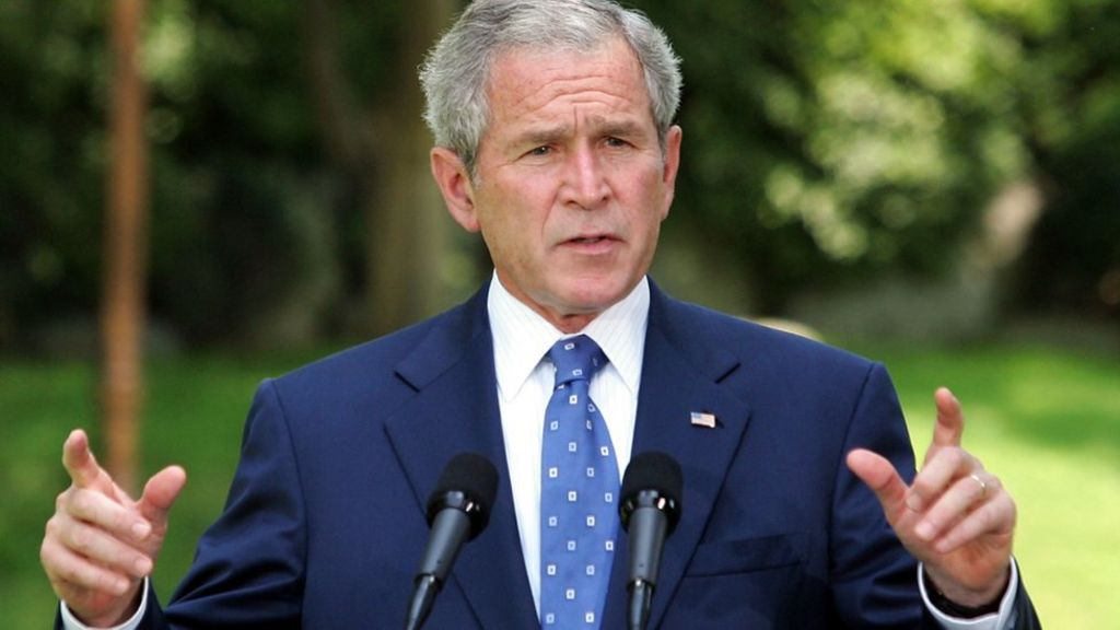 George W Bush Tops Wikipedia 15th Birthday List Bbc News