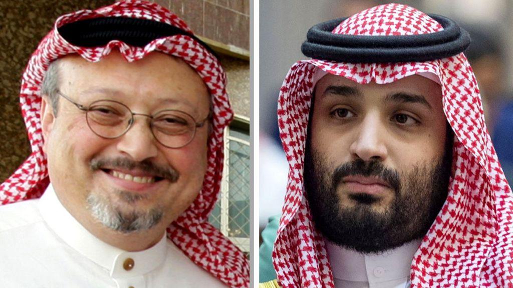 Jamal Khashoggi killing: Saudi crown prince 'should face investigation' -  BBC News
