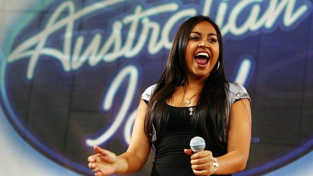 Jessica Mauboy on Australian Idol