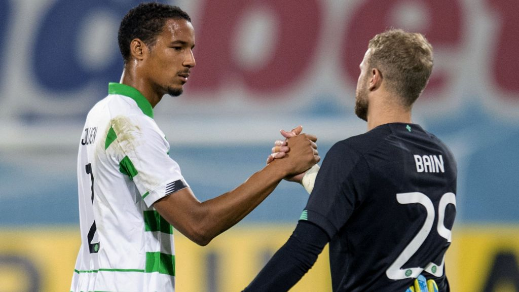 CFR Cluj 1-1 Celtic: Defence a 'work in progress', says Neil Lennon
