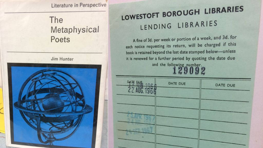 Overdue library book returned after 52 years - BBC News