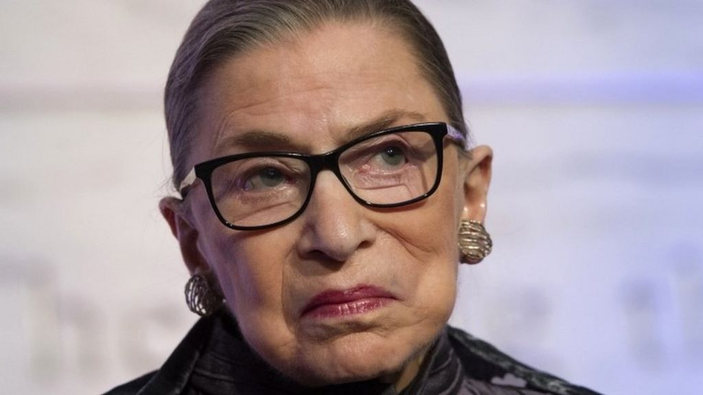 Ruth Bader Ginsburg sorry for calling Donald Trump 'faker'
