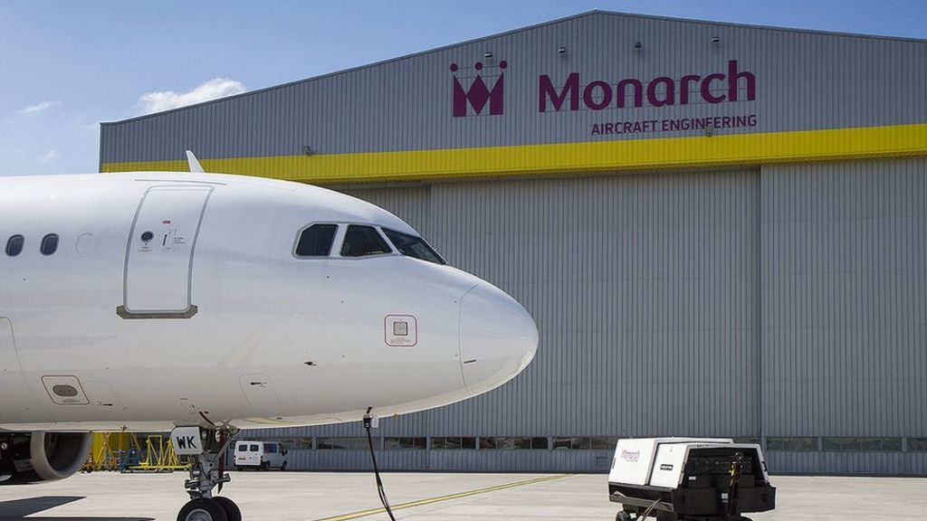 Luton-based Monarch Aircraft Engineering falls into