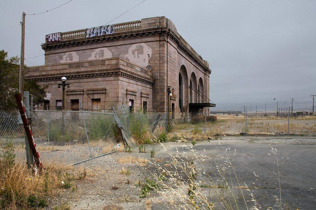 Oakland's former train station