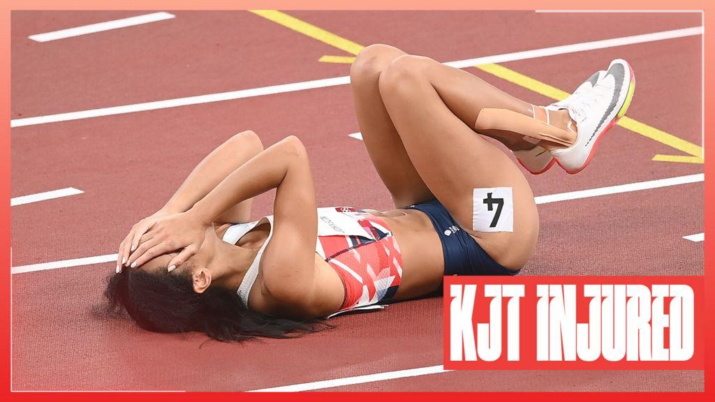 Tokyo Olympics: Great Britains Katarina Johnson-Thompson pulls up injured in the 200m