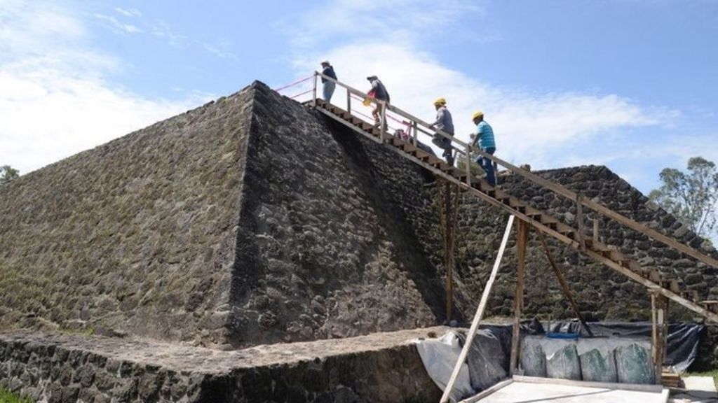 bbc.co.uk - Mexico earthquake leads to discovery of ancient temple