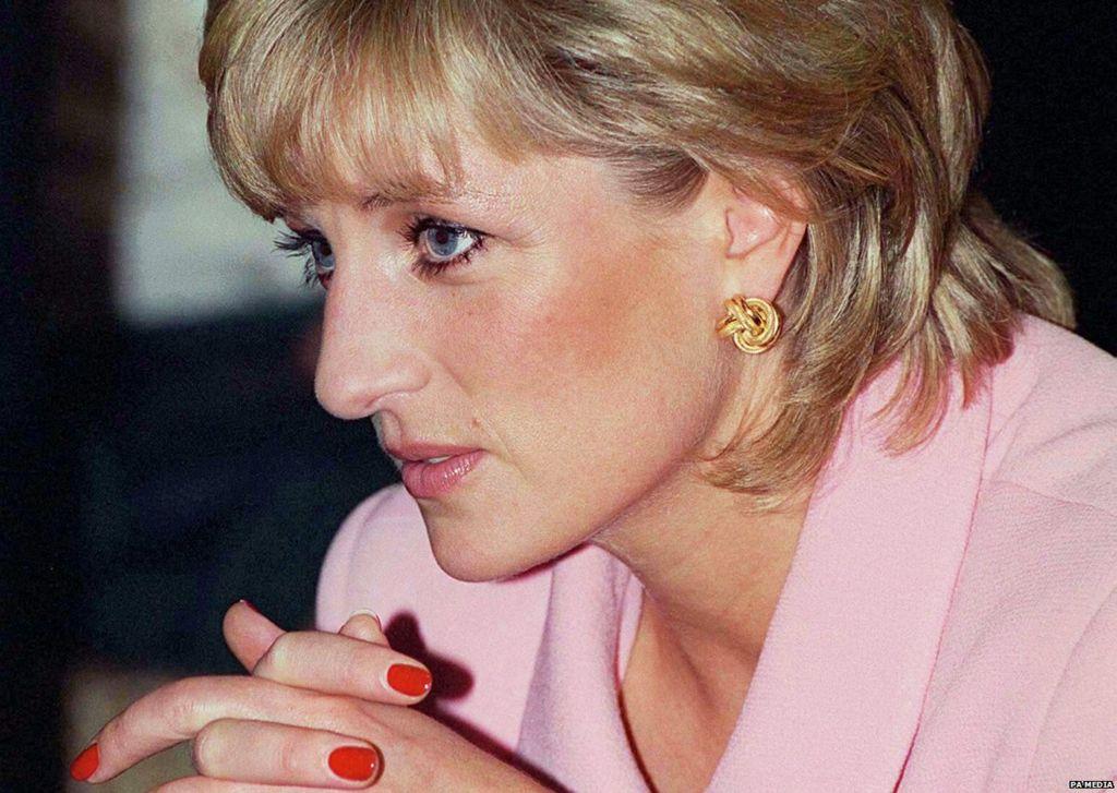 Princess Diana in Argentina, 24 November 1995