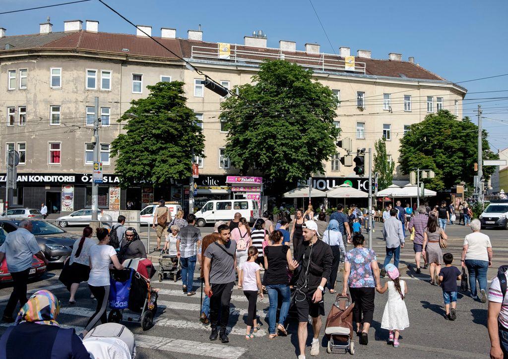 Favoriten district of Vienna