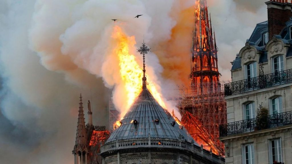 Notre Dame General Says Architect Should Shut His Mouth Bbc News