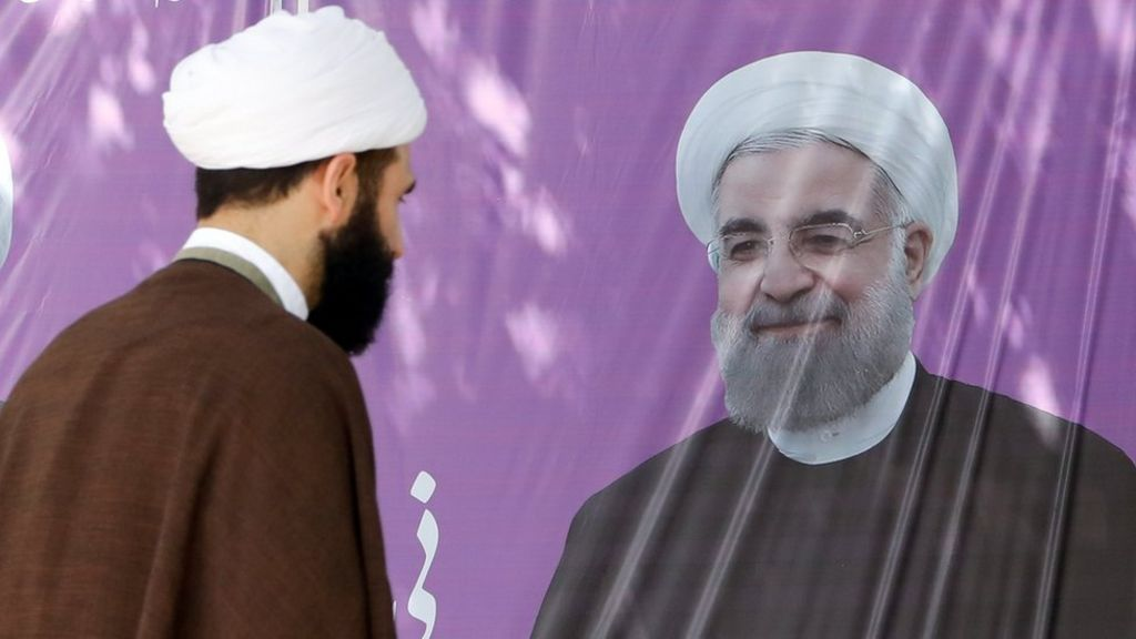 Iran election: Hassan Rouhani wins second term as president – BBC News