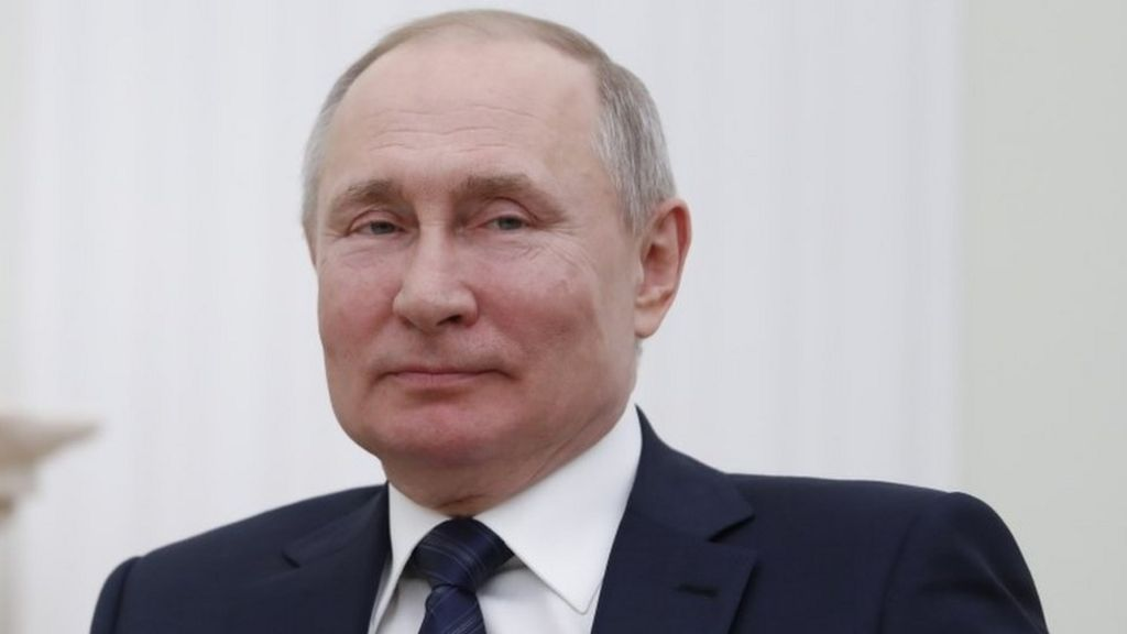 Putin Dismisses Rumours He Uses Body Doubles For Security Bbc News