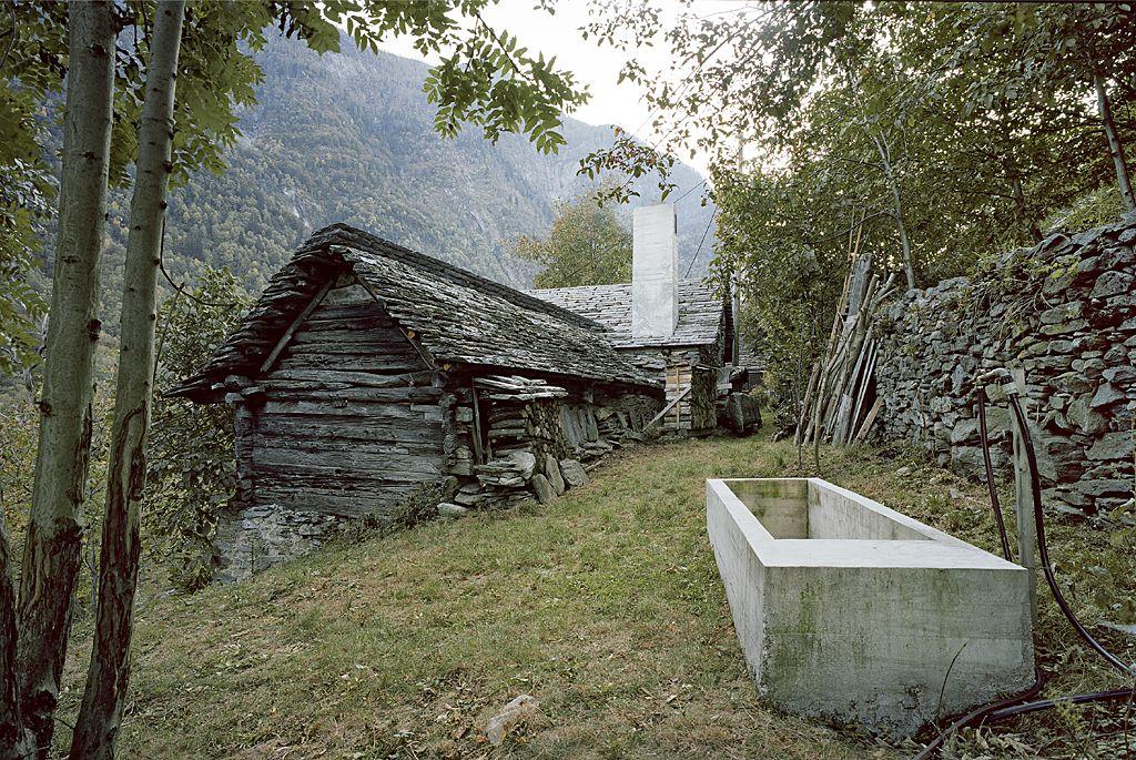 Stone building in Linescio, Switzerland - renovated in 2011 by Buchner Brundler Architekten