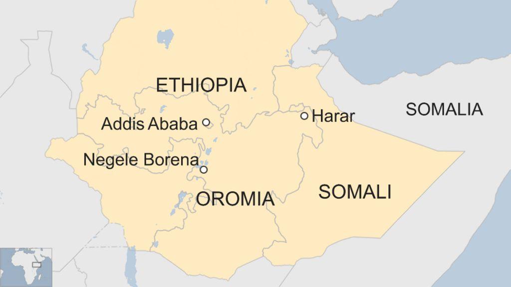 Dozens die in clash between Ethiopian Somalis and Oromos