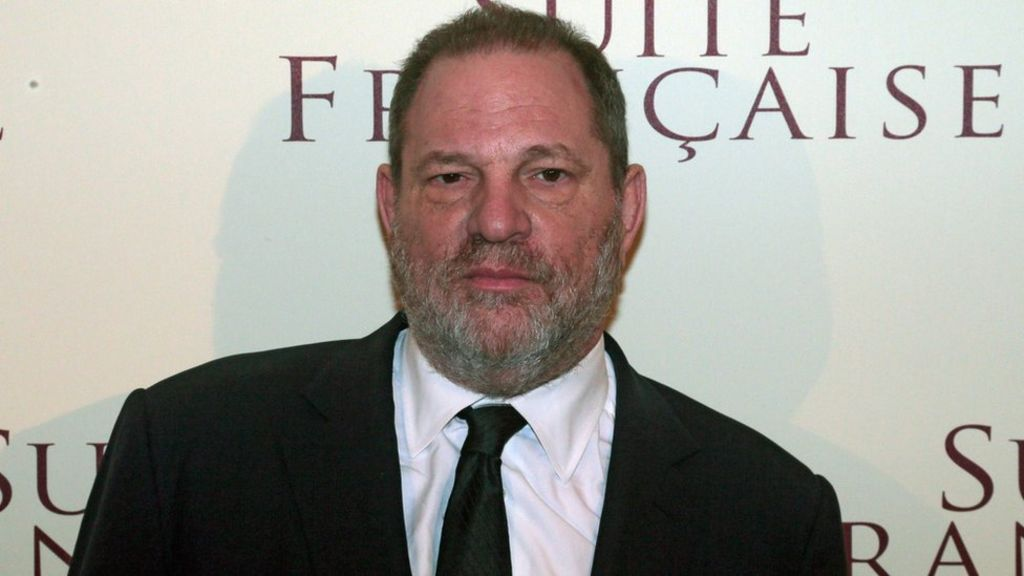 Harvey Weinstein 'steps down from company board'