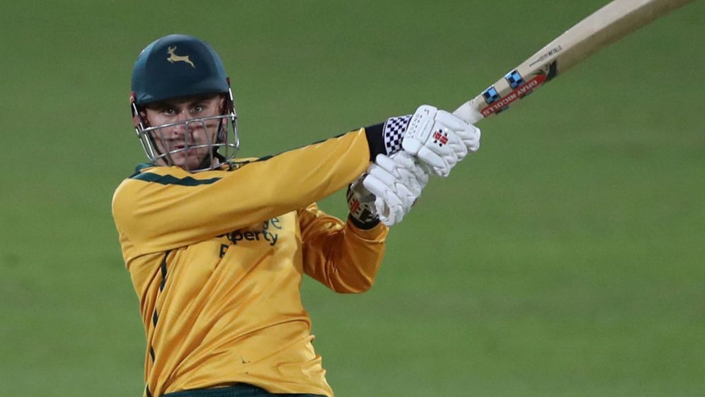 T20 Blast: Notts Outlaws beat Middlesex by 10 wickets in