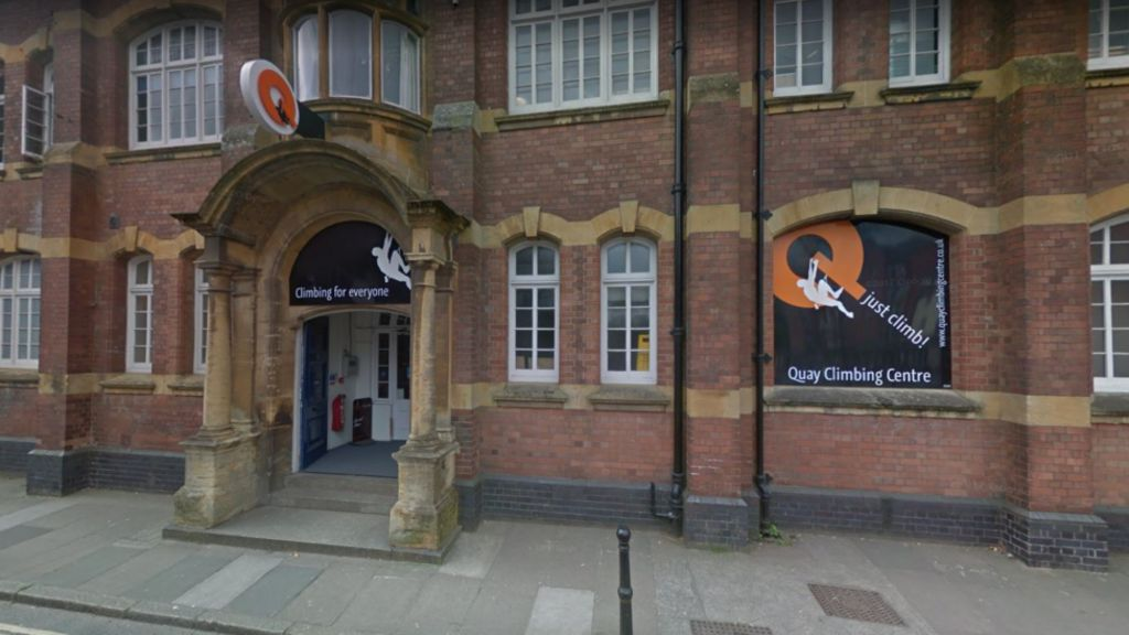 Man dies after falling from Exeter indoor climbing wall