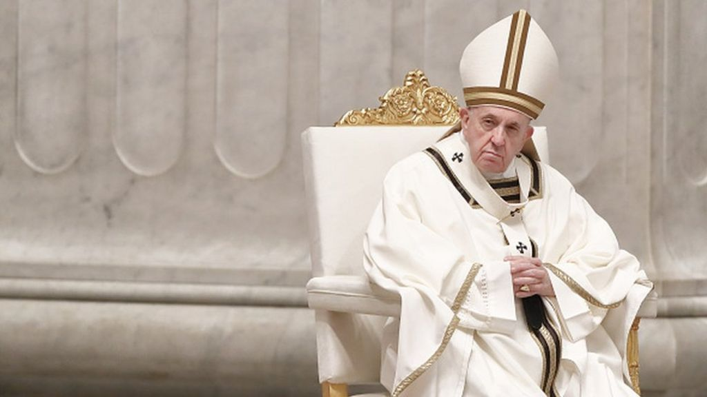 Coronavirus Pope Francis Urges People Not To Yield To Fear