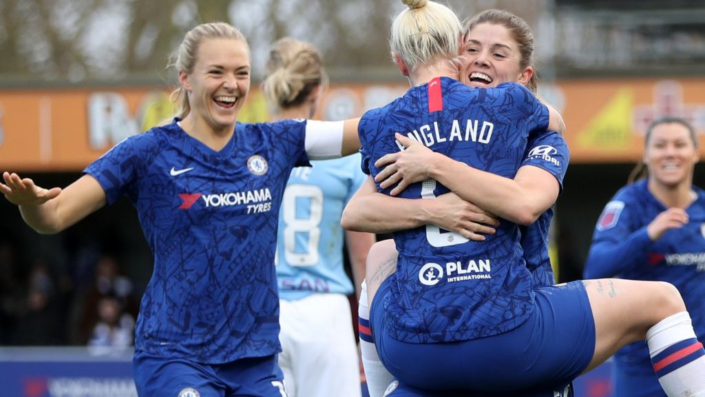 Image result for man city chelsea wsl