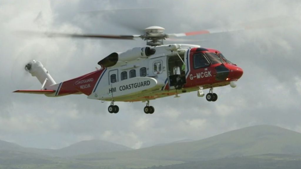 Missing helicopter: Police launch Snowdonia ground search