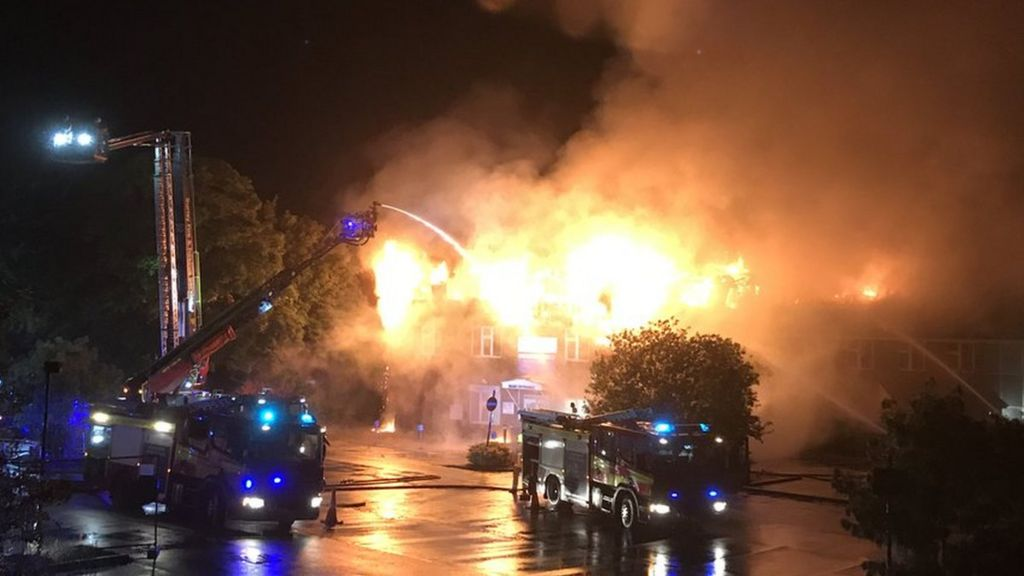 Weybridge fire