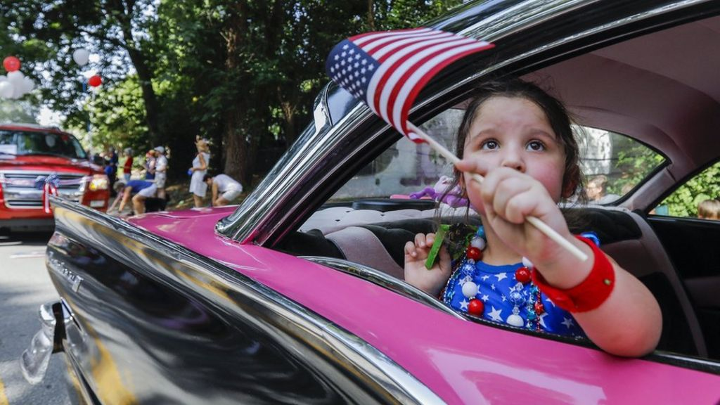 Americans celebrate Fourth of July 2017