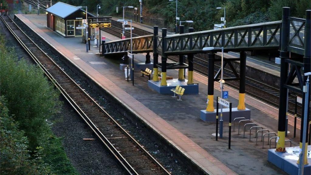 Rail strikes get under way on train services