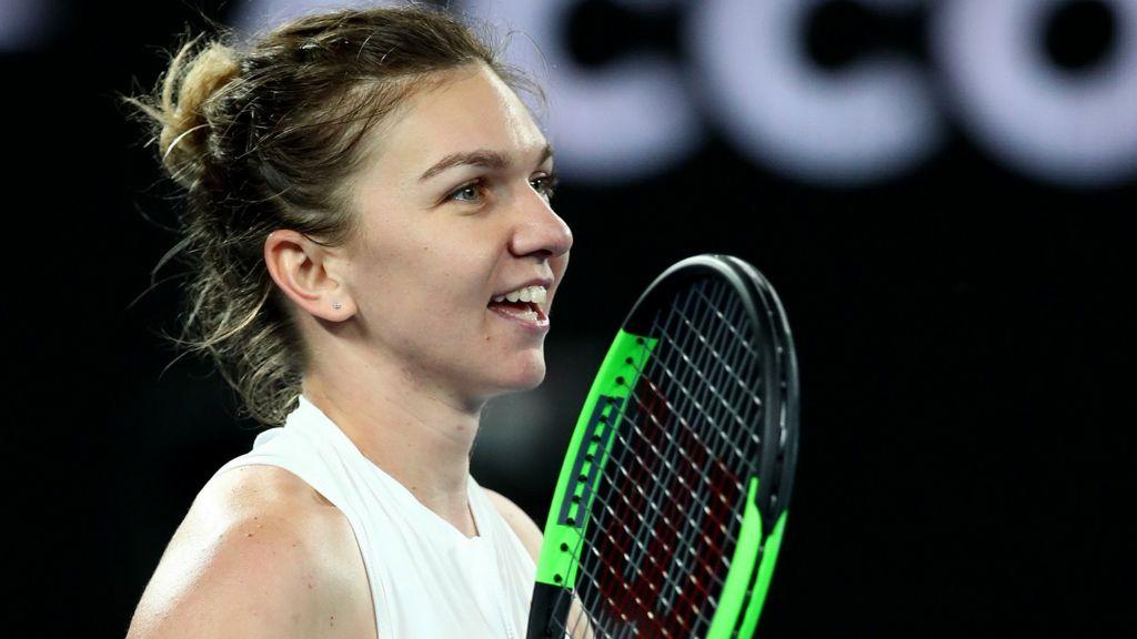 Australian Open 2019 Simona Halep Survives Scare To Beat Sofia
