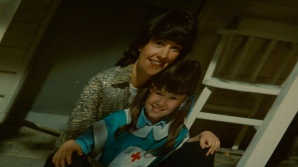 A photo that replicant Rachael believes is a younger version of herself with her mother