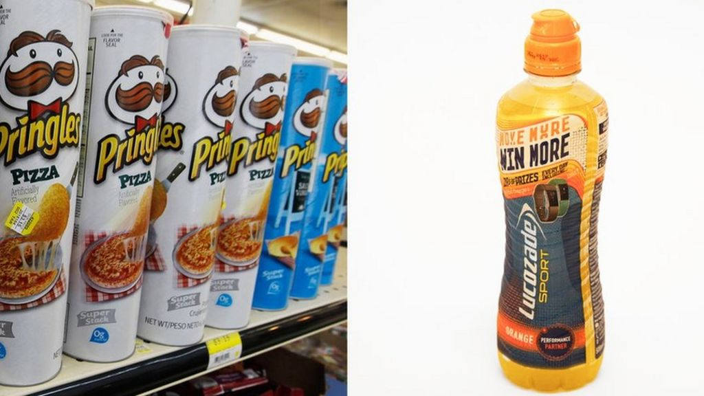 Image result for Recycling body criticises Pringles and Lucozade packaging