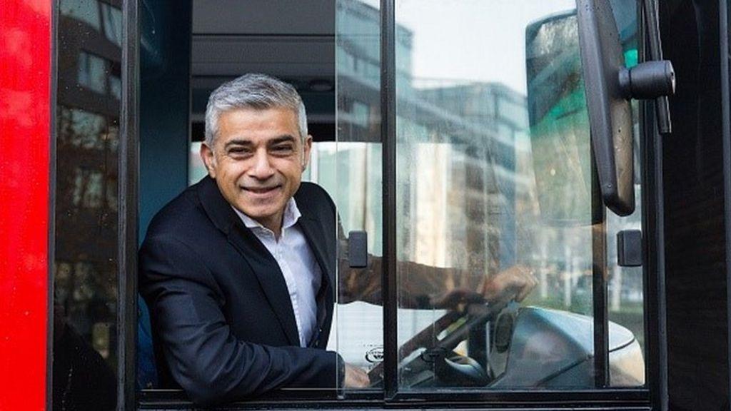 Sadiq Khan announces new London bus drivers pay deal - BBC News