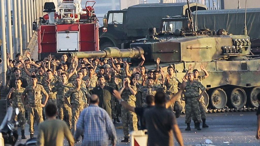 Why did Turkish coup plot fail?