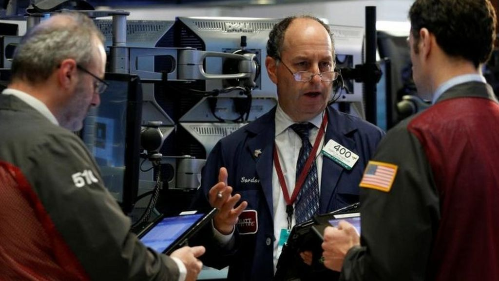 Dow Jones index eases back from 23,000 milestone