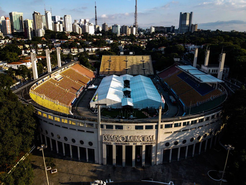 The Rolling Stones are among artists who have performed at Sao Paulo's Pacaembu Stadium
