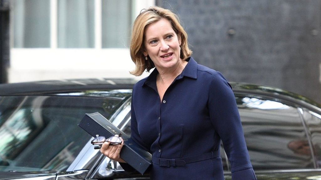 Amber Rudd accuses tech giants of 'sneering' at politicians