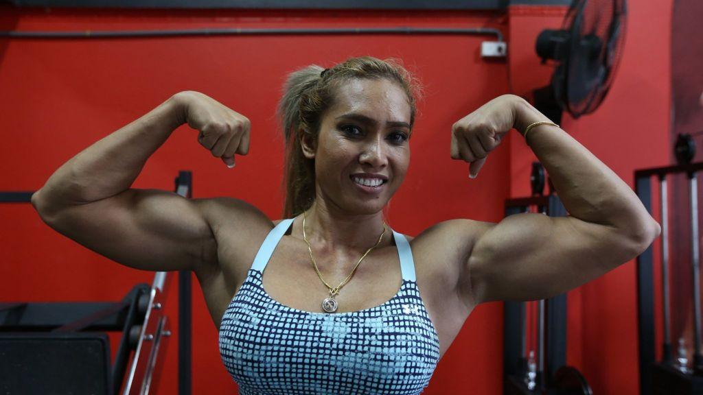 100 Women Thai Woman Fights Stigma To Become A Bodybuilder Bbc News
