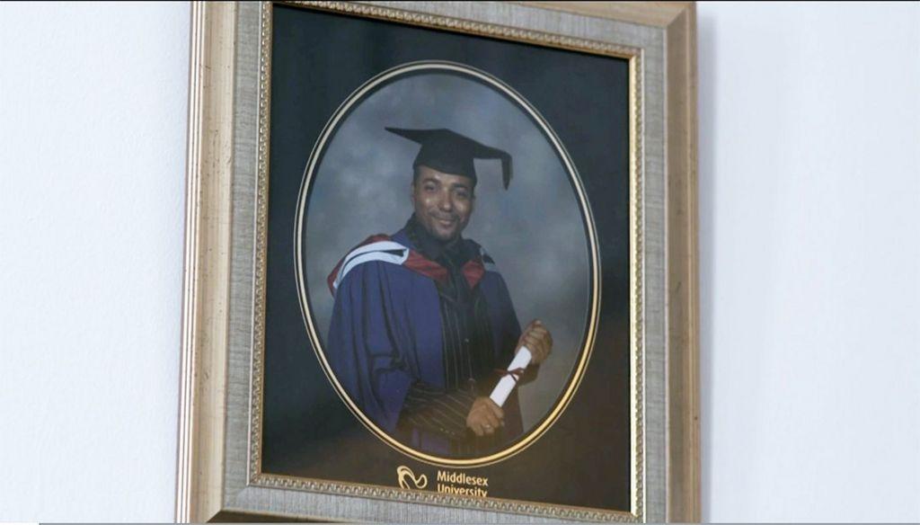 Noel's graduation portrait