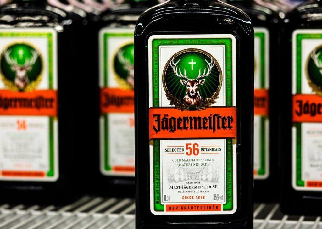 Jägermeister bottles