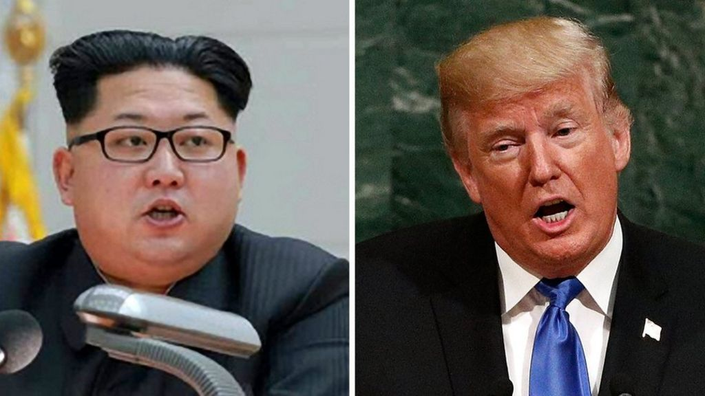 Trump and Kim call each other mad