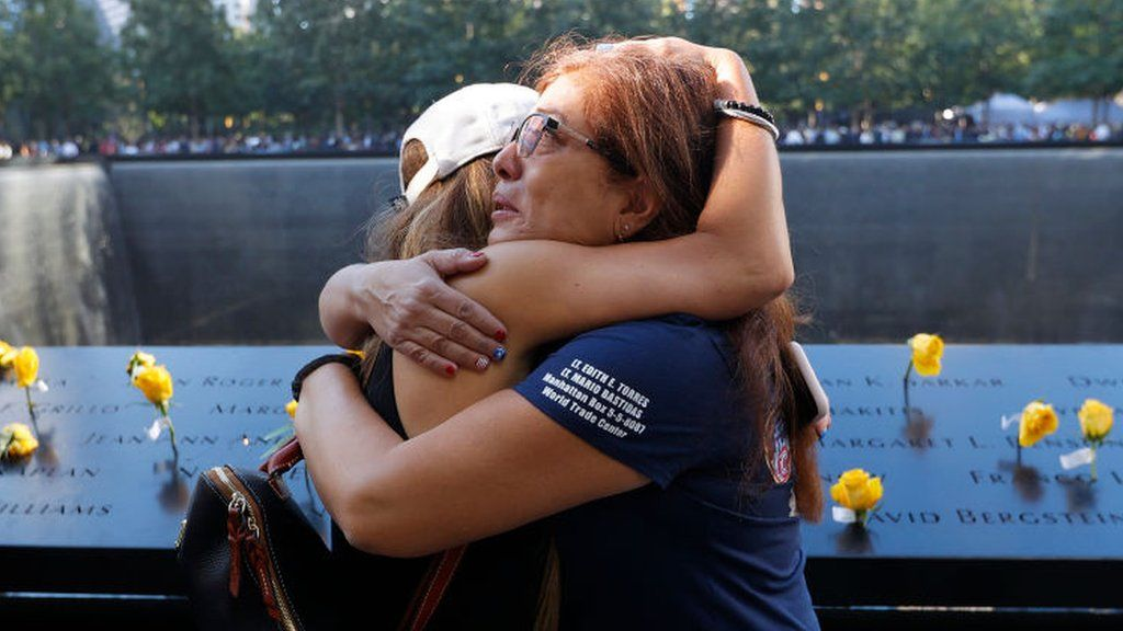 9/11 anniversary: Emotional tributes paid to lives lost thumbnail